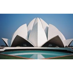 Lugares sagrados: el Templo del Loto en India