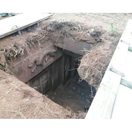 Una maravillosa tumba de la dinastía Song sale a la luz por casualidad