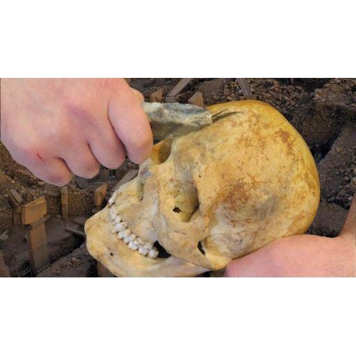 Hallan restos de 'culto a la calavera' en el templo más antiguo del mundo
