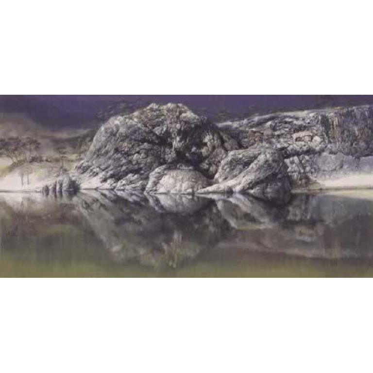 Las rocas del lago Burma