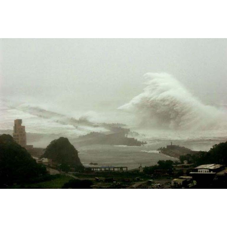 La ola más grande alguna vez registrada.