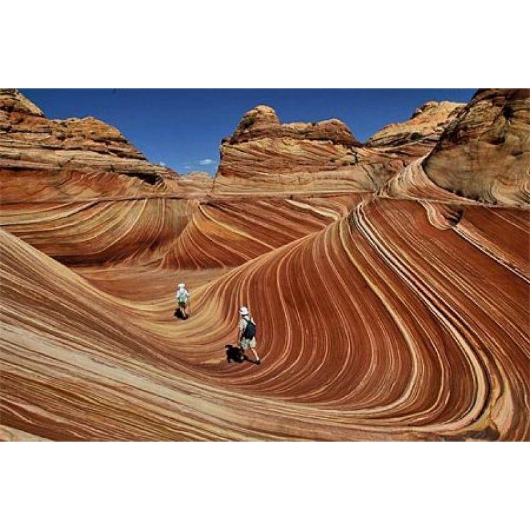 Increíbles formaciones rocosas en Arizona.
