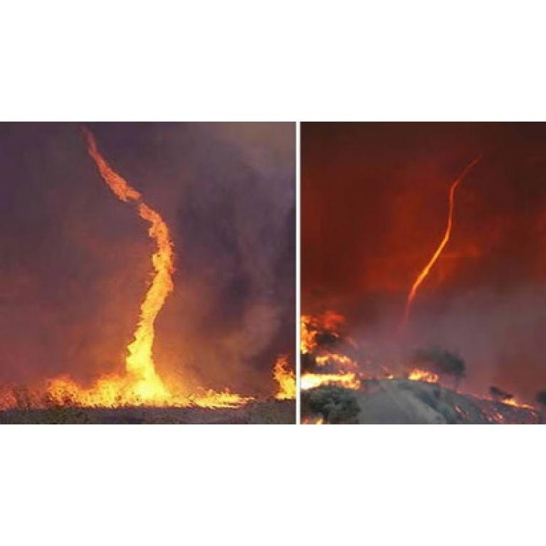 Los Tornados de fuego