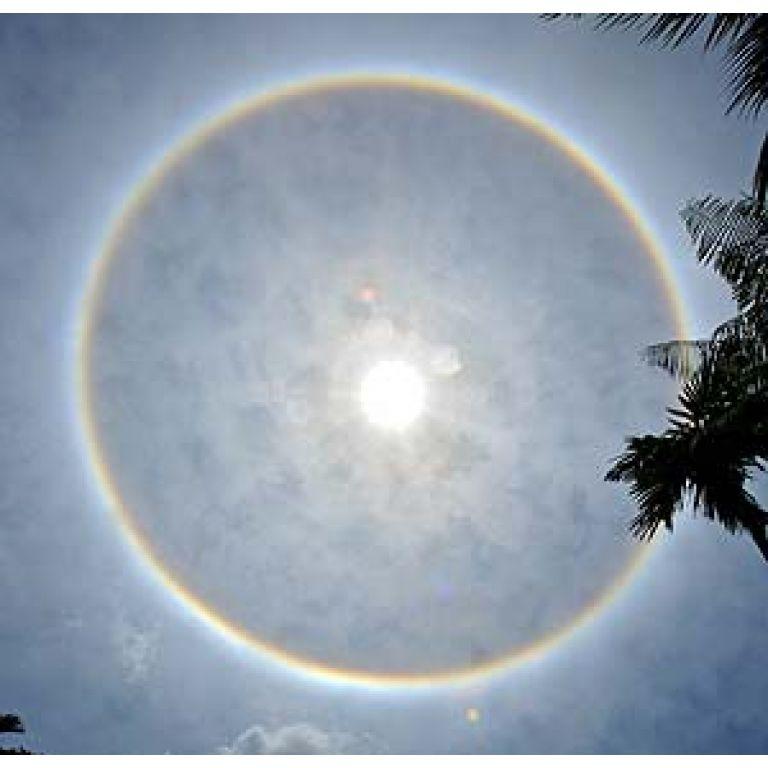 Arco iris circular