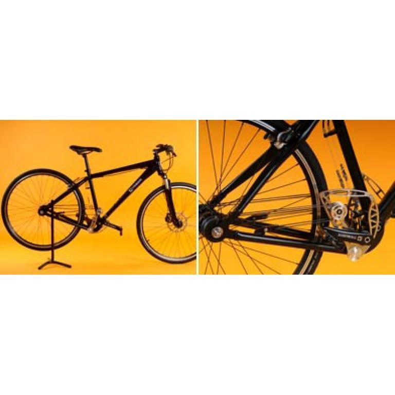 Innovación: una bicicleta sin cadenas