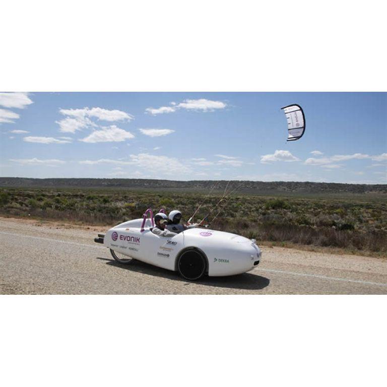 Lo que el viento se llevó: El primer vehículo eólico autosuficiente cruzó Australia
