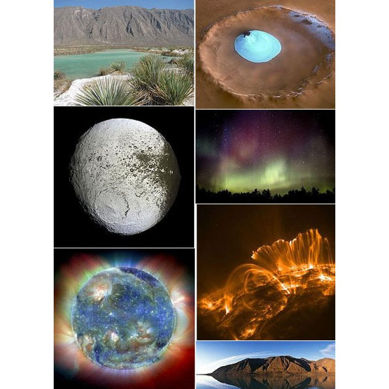 La NASA revela las mejores imágenes del Sistema solar