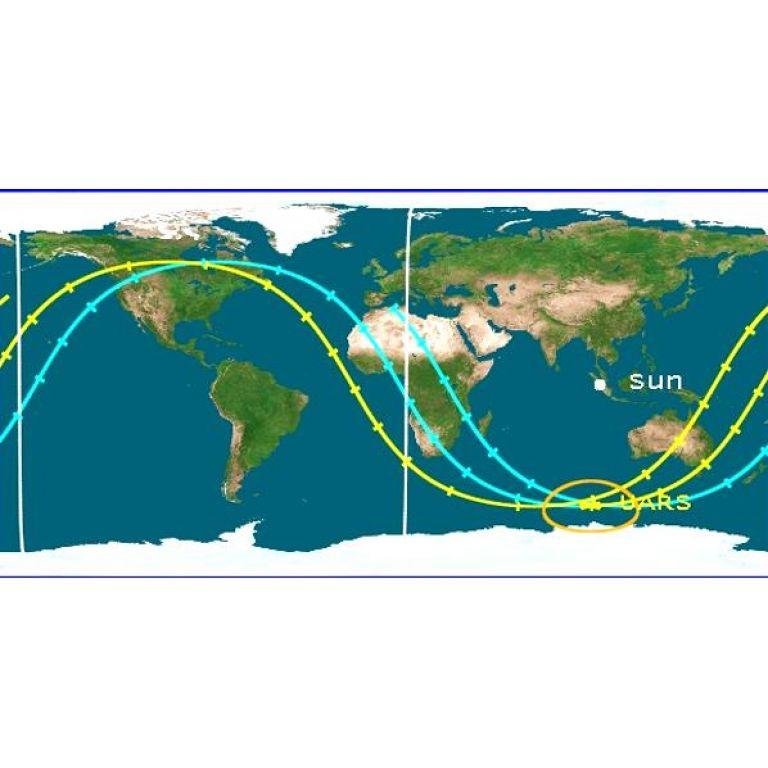 La NASA confirmó el lugar de caída del satélite