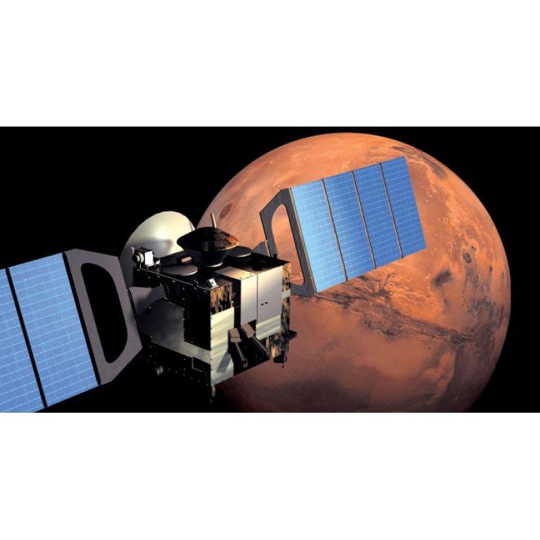 La atmósfera de Marte se encuentra sobresaturada de vapor de agua