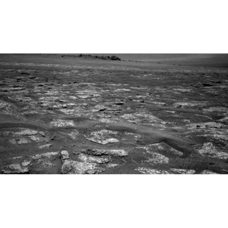 Video del viaje del robot Opportunity en Marte durante tres años