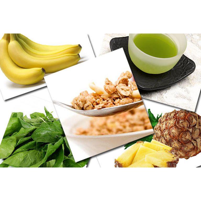 Cinco elementos que combaten grasas y retención de líquidos