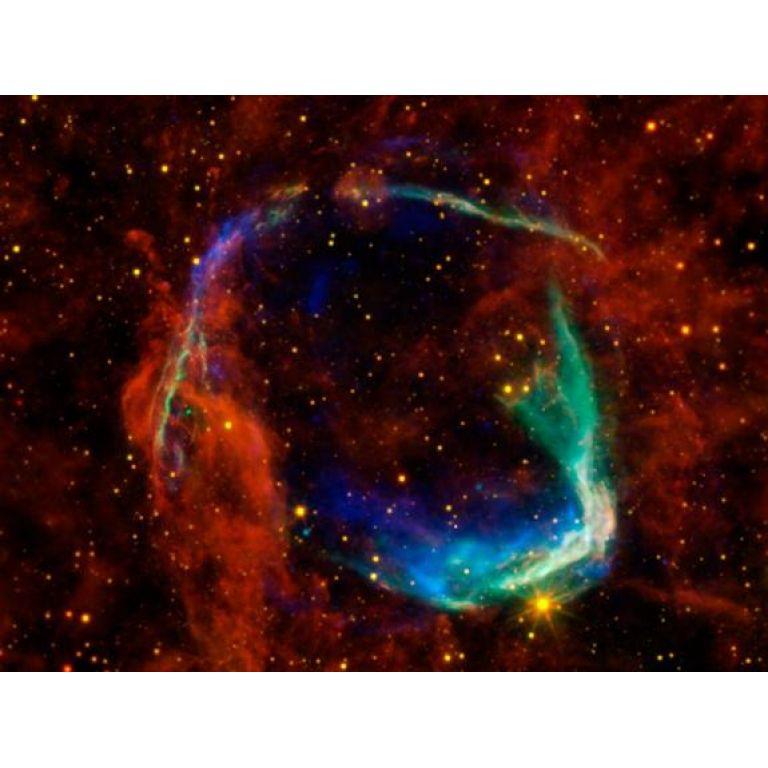 La NASA revela cómo sucedió la primera supernova jamás registrada