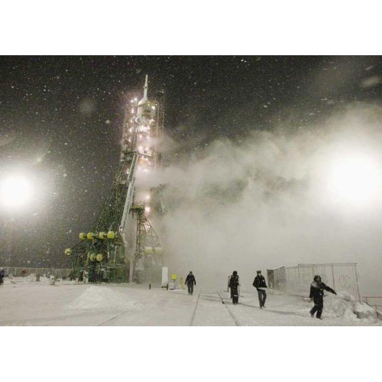 Cohete ruso despegó hacia la ISS