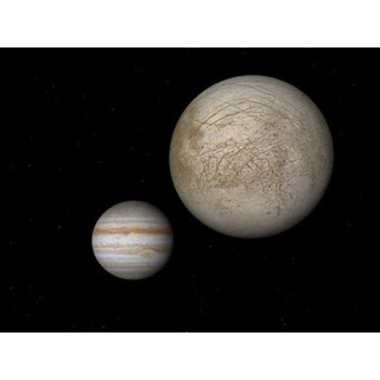 Expectativa por la existencia de agua en una de las lunas de Júpiter