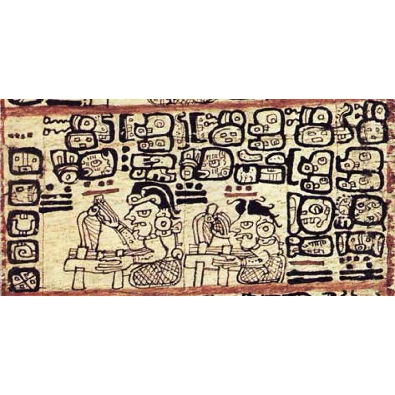 América Precolombina : Tres Códices Antiguos Mayas.
