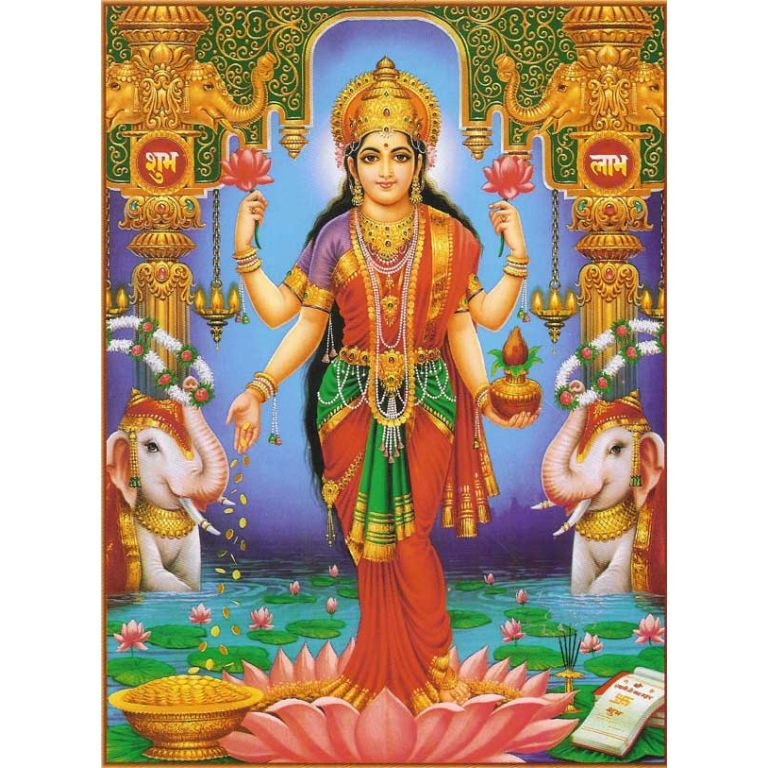 La leyenda de Lakshmi y la lavandera.
