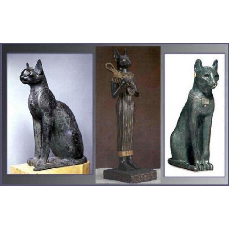 El gato en el Antiguo Egipto.