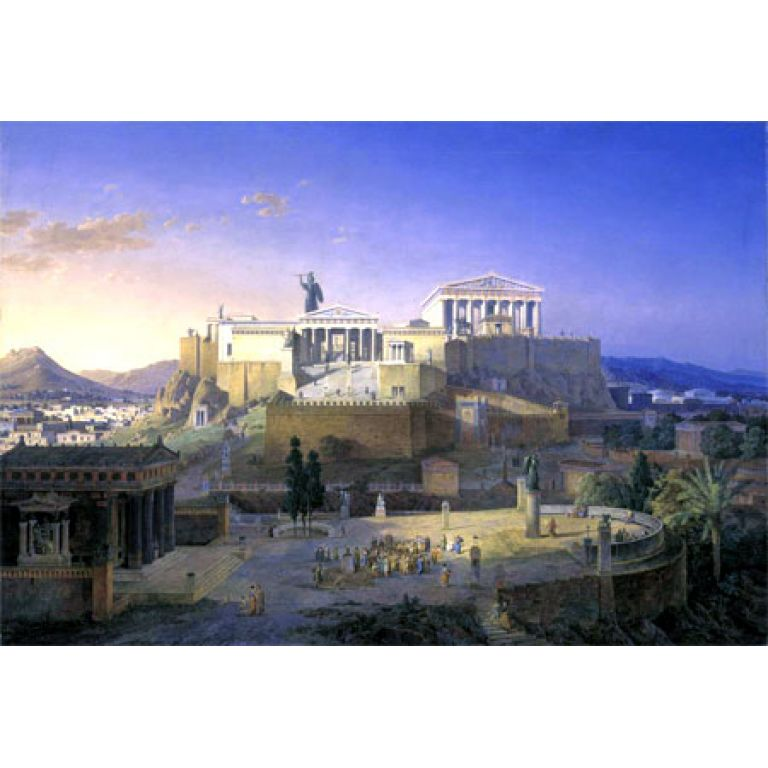 La Atlántida, un reino mítico.