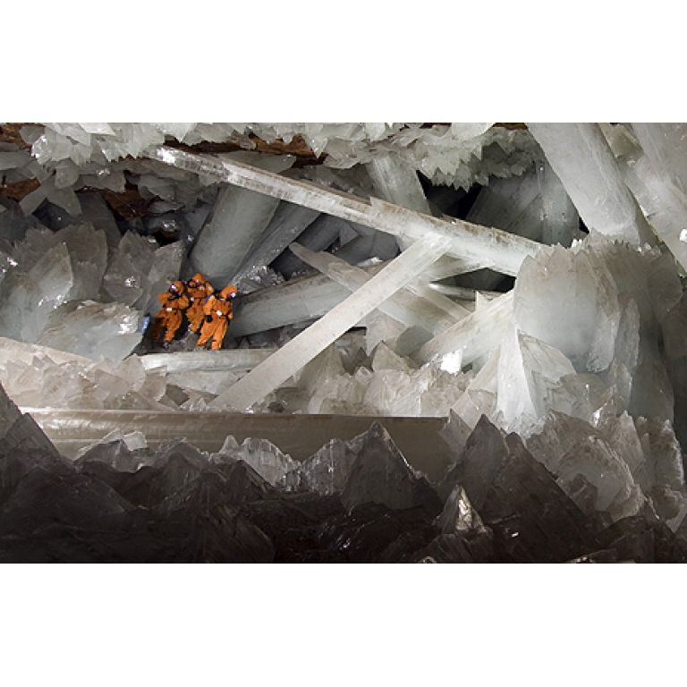 Cueva de los Gigantes de Cristal.
