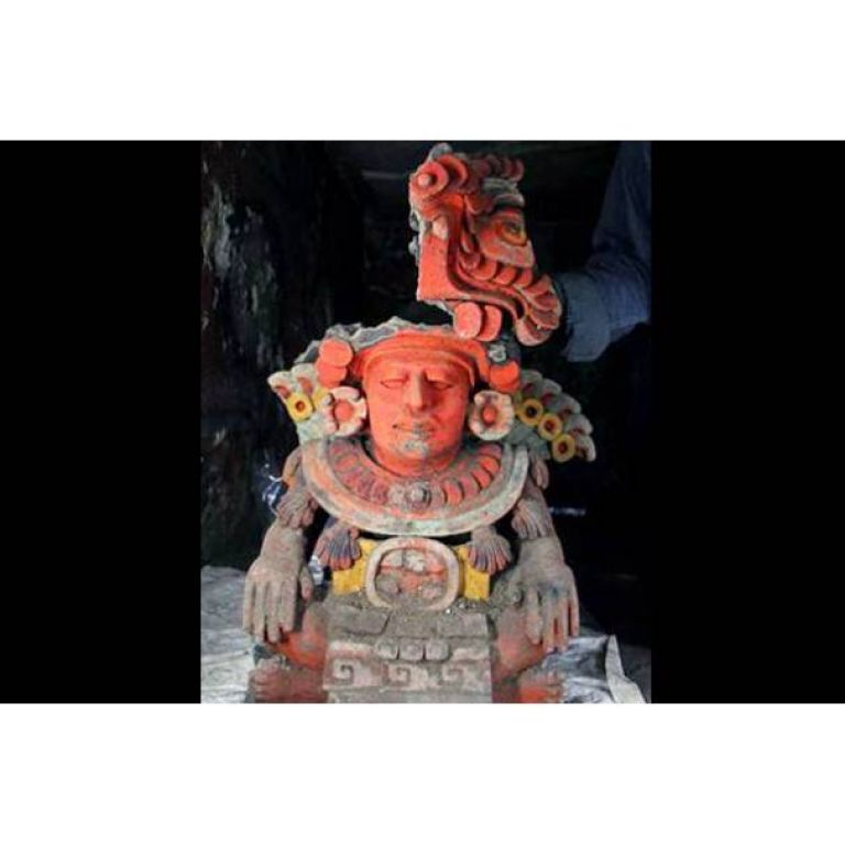 Una excepcional vasija funeraria zapoteca