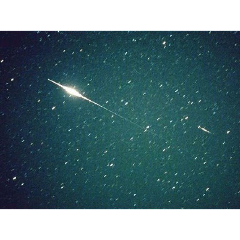 Lluvia anual de meteoros Perseidas