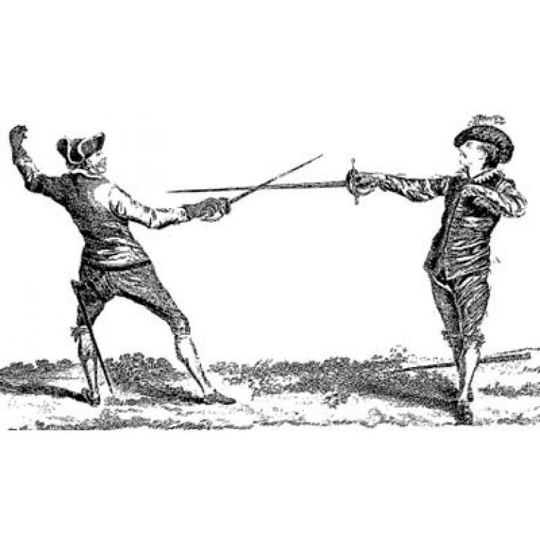El duelo en el siglo XVII