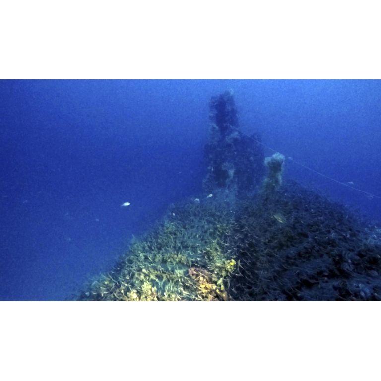 Hallan un submarino británico de la Segunda Guerra Mundial frente a la costa de Cerdeña