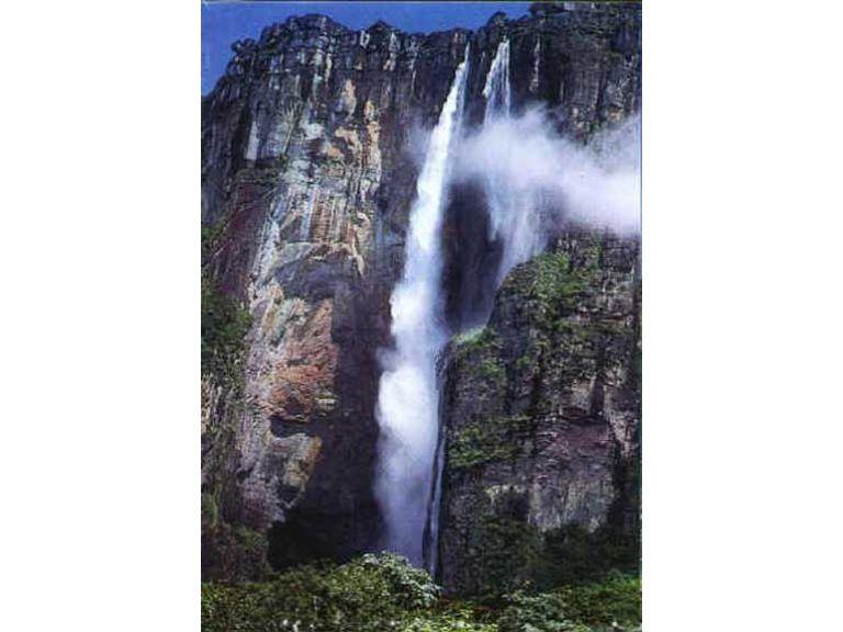 Las cataratas más altas del mundo.
