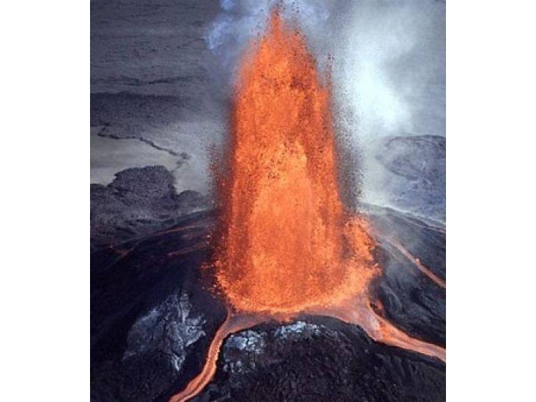 Cortina de Fuego en Hawaii.