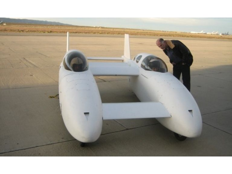 BiPod, un auto volador