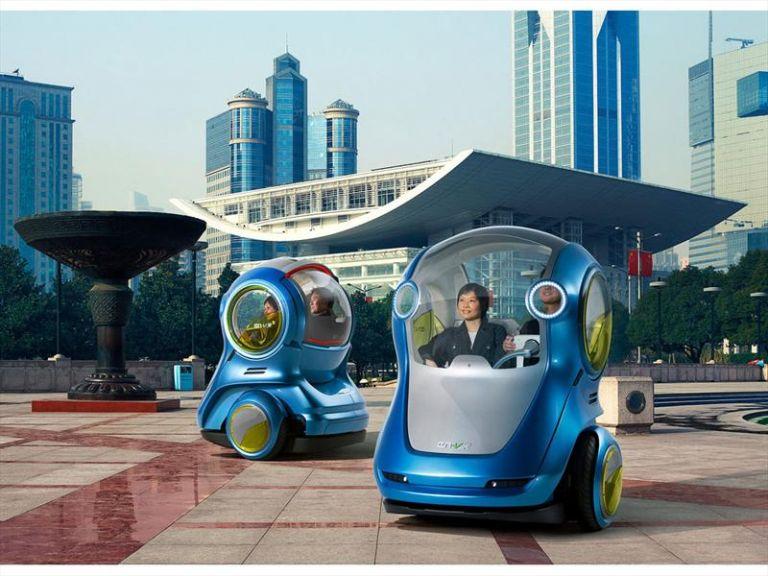 GM En-V, el futuro de los autos llega a China