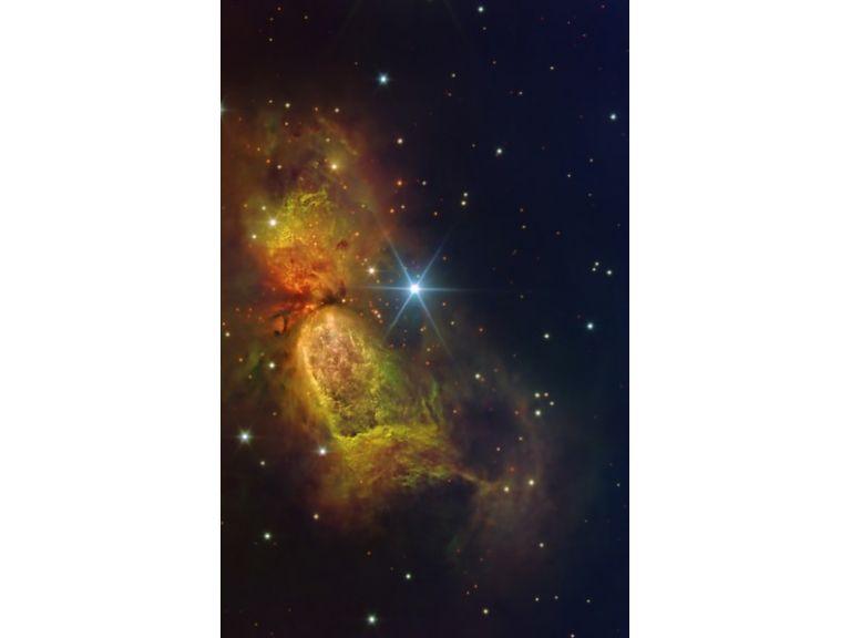 Imperdible imágen del nacimiento de una estrella