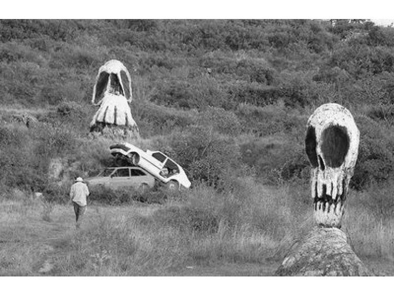 El parque de los desvelados: naturaleza, muerte y calaveras.