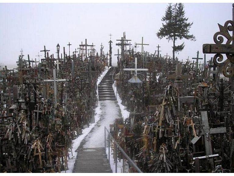 La colina de las cruces de Lituania.