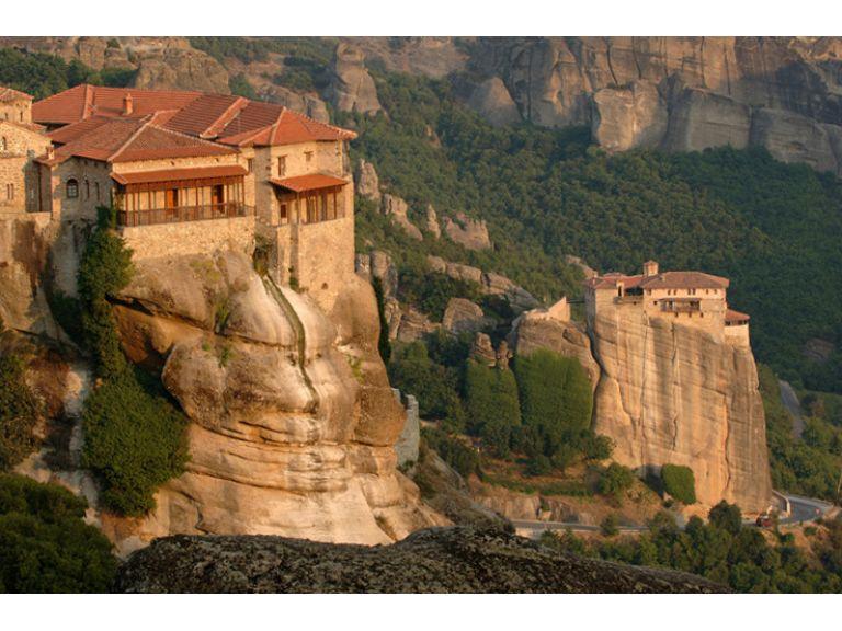 Los monasterios de Meteora.