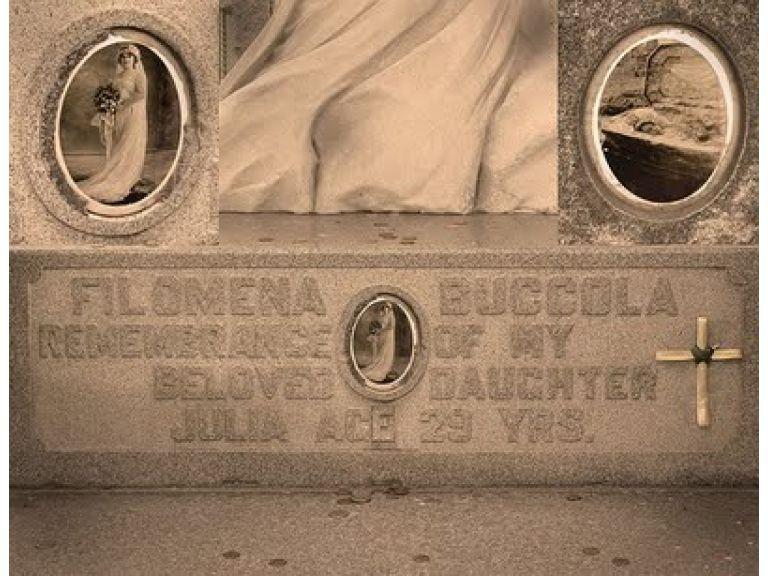 Julia Buccola Petta, la novia cadáver.