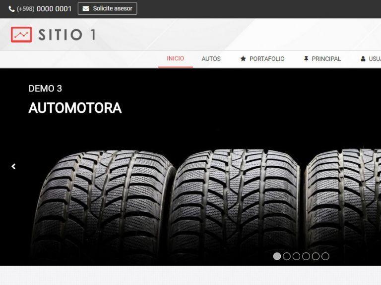 CARS 1 . Web design template for car sales or rental