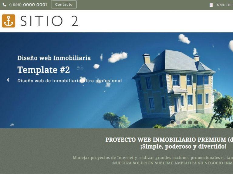 Real Estate Web site design 2