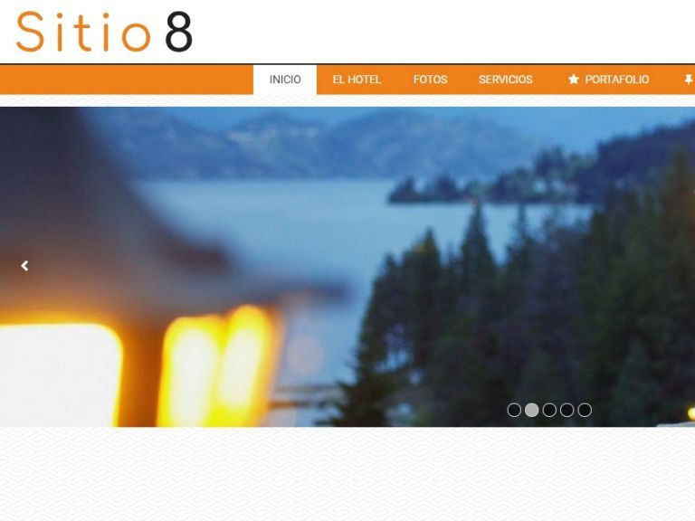 HOTEL 8 . Web design template for hotels