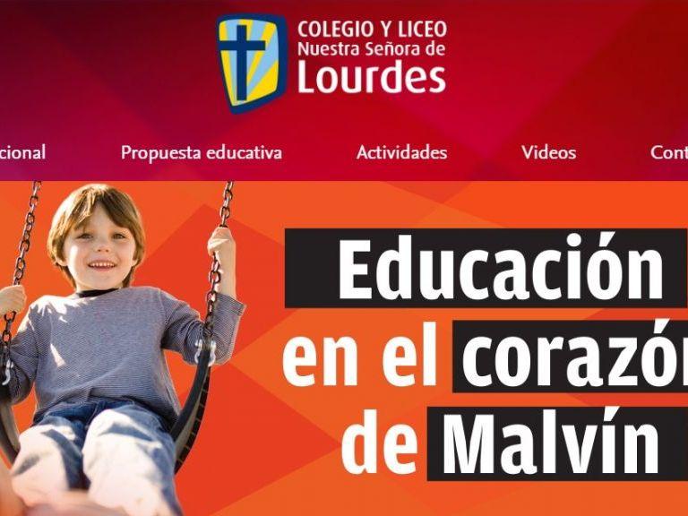 Colegio y Liceo. Educación Inicial - Primaria - Secundaria - Colegio y Liceo Nuestra Señora de Lourdes