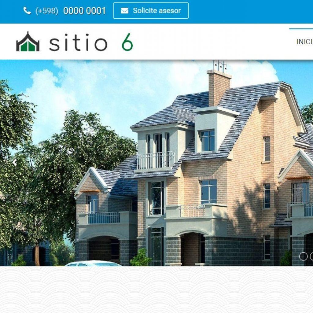 Plantillas y Ejemplos de diseño web para inmobiliarias. Software inmobiliario con diseño web superior.