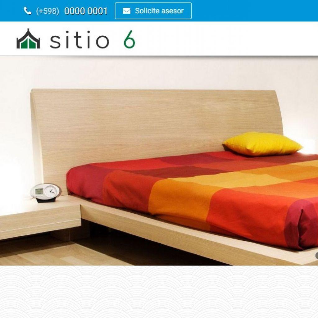 Demo de diseño web para hotel. Plantilla profesional.