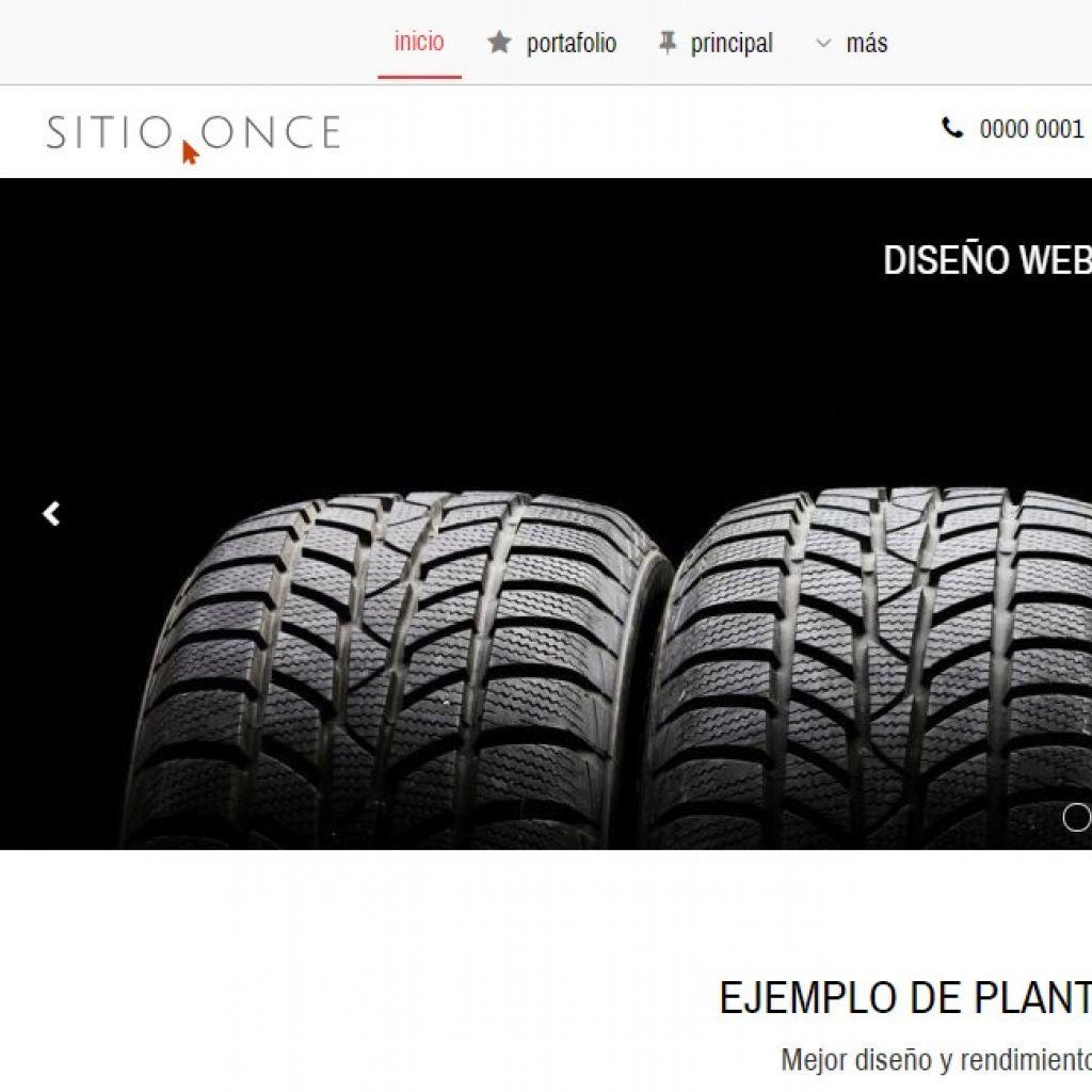 Diseño sitio web automotora rentadora