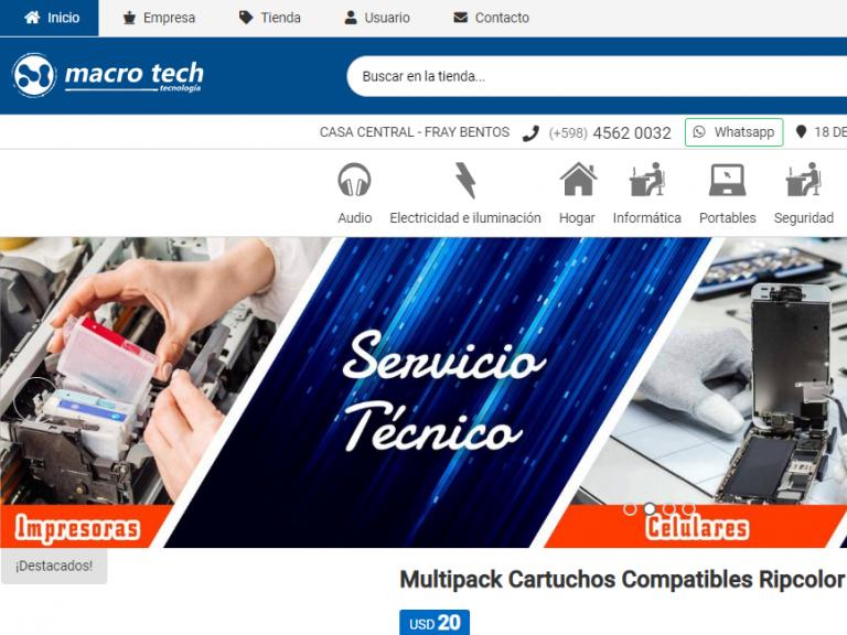 Macro Tech Tecnología e informática - Macro Tech