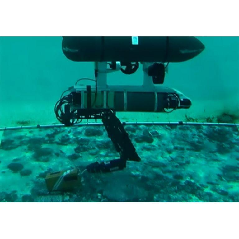España: Prueban con éxito robot autónomo para tareas submarinas