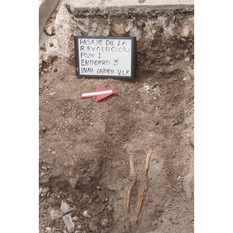 Hallaron en México esqueletos del siglo XVII