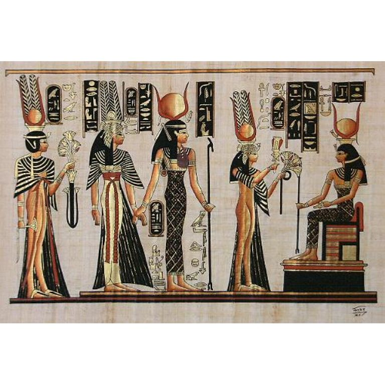 La leyenda de las 7 Hathores.