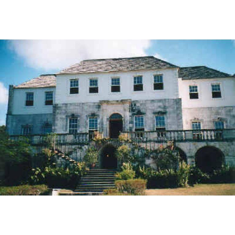 La mansión Rose Hall en Jamaica.