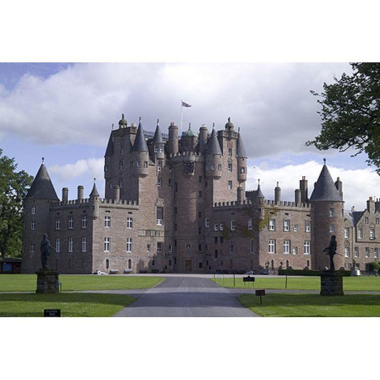 El castillo de Glamis.