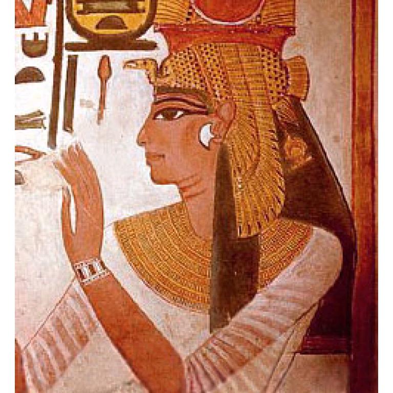 El llamado perfil egipcio